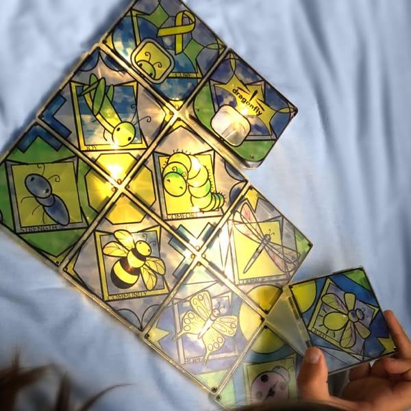 Joc Magnetic De Construit – Iluminator Magna-Tiles