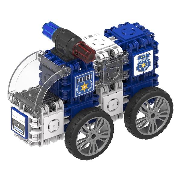 Joc Magnetic De Construit Mașini De Poliție (1)