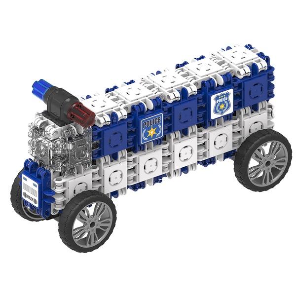 Joc Magnetic De Construit Mașini De Poliție (3)