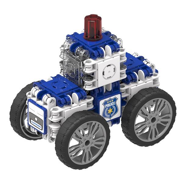Joc Magnetic De Construit Mașini De Poliție (4)