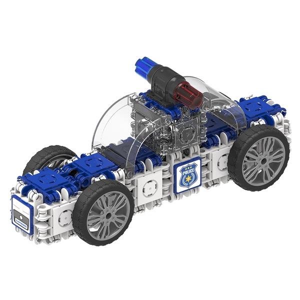 Joc Magnetic De Construit Mașini De Poliție (5)