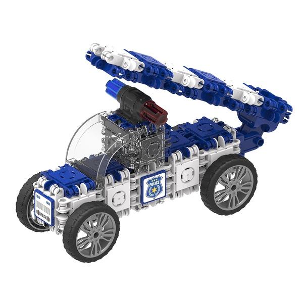 Joc Magnetic De Construit Mașini De Poliție (6)