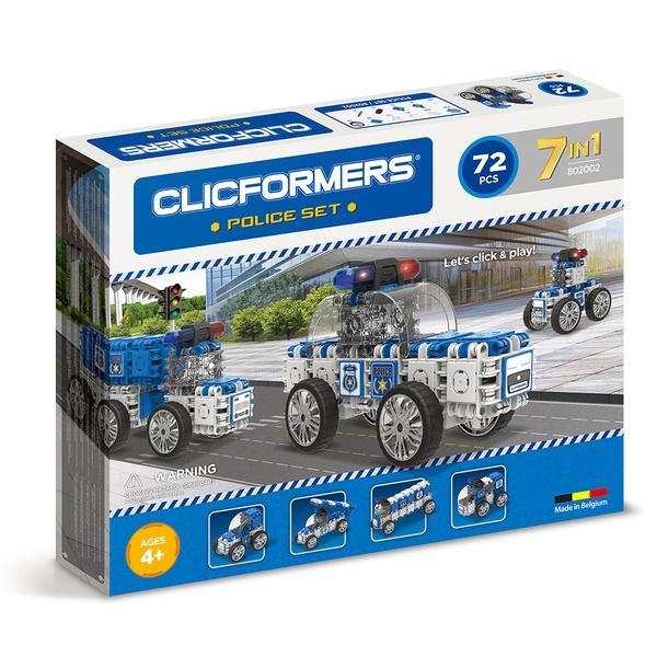 Joc Magnetic De Construit Mașini De Poliție
