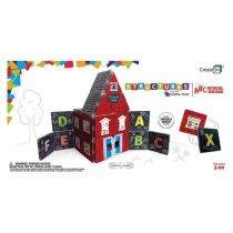 Joc Magnetic De Construit - Școala ABC 'Magna-Tiles'
