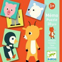 Joc Memo-Animo Cu Animale Pentru Copii