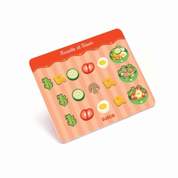 Joc Pentru Copii – Salată Rosette Și Cesar1