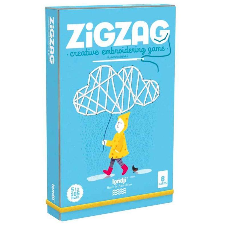 """Set De Cusut Pentru Copii """"Zig Zag"""""""