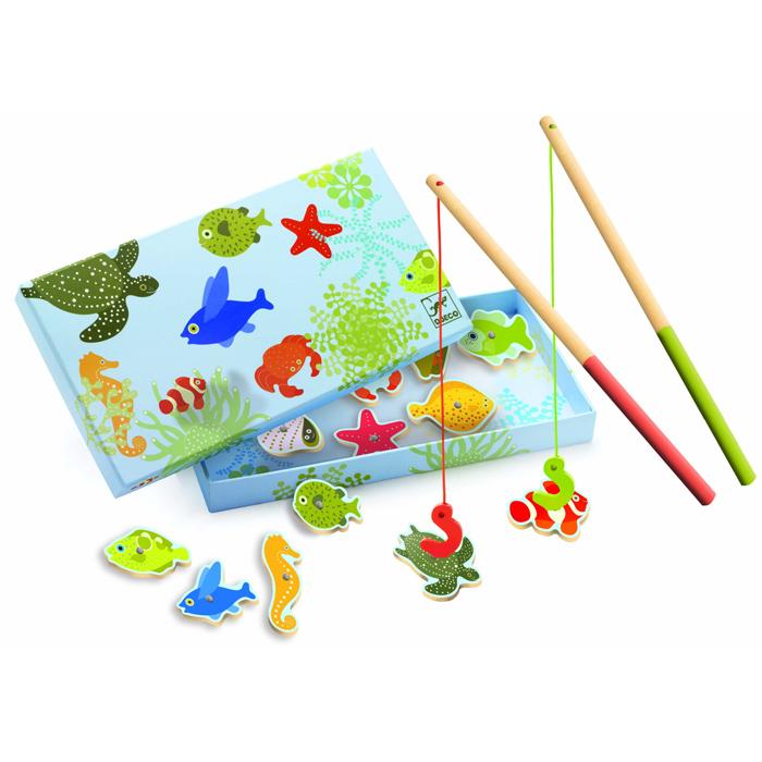Joc Magnetic De Pescuit Cu Pești Tropicali