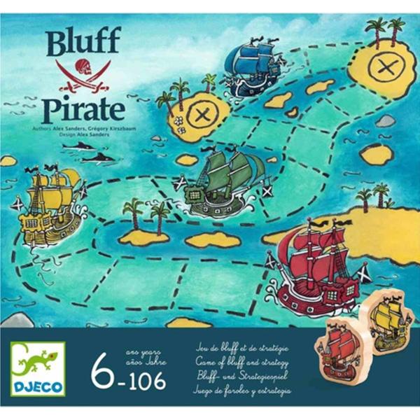 """Joc De Strategie """"Bluff Pirate"""""""