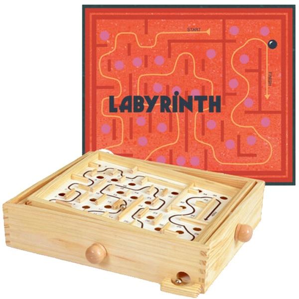 Joc De Îndemânare – Labirint Din Lemn