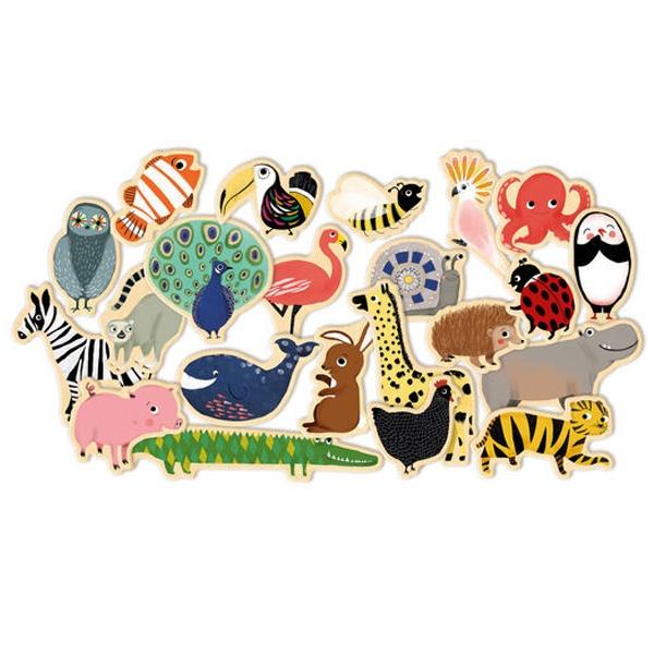 Animale magnetice de lipit pe frigider