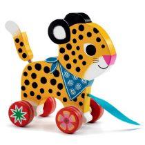 Leopardul Greta - Jucărie De Tras
