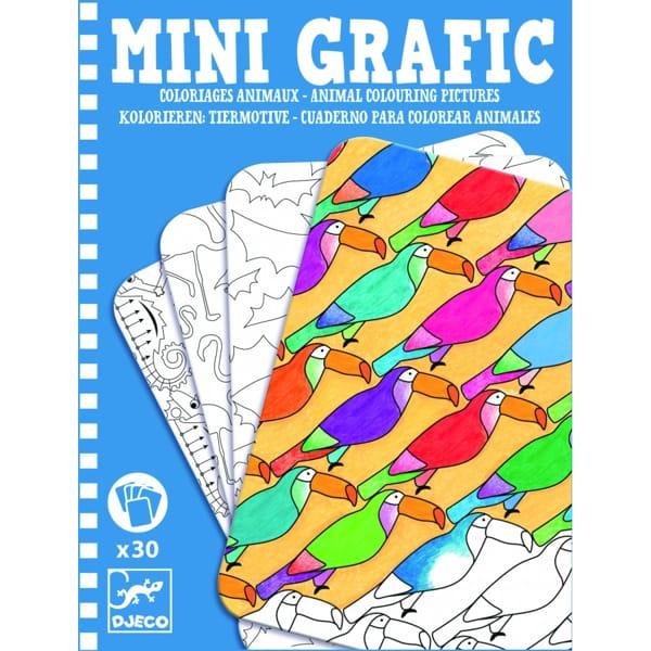 Mini Grafic – Planșe De Desenat Animale