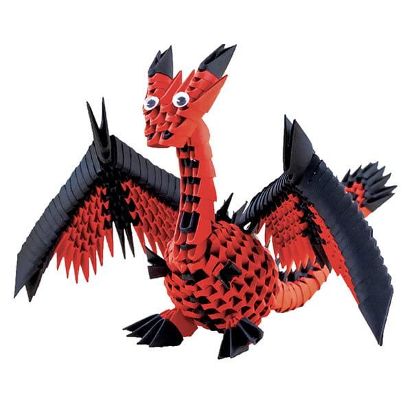 Origami 3D Creagami Dragon-1