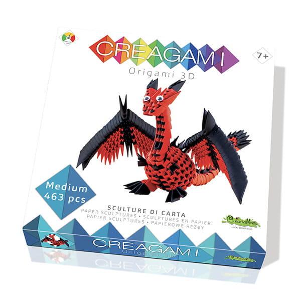 """Origami 3D Creagami """"Dragon"""""""