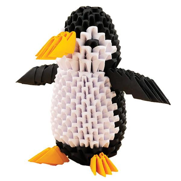 Origami 3D Creagami Pinguin-1
