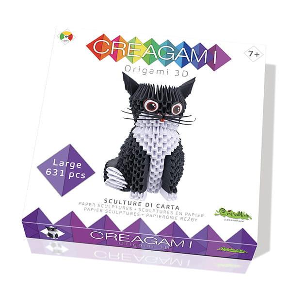 """Origami 3D Creagami """"Pisică"""""""