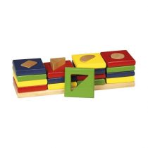 Patru Turnuri - Joc Cu Forme Geometrice