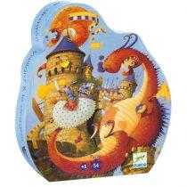 """Puzzle Băieți """"Cavalerul Și Dragonul"""""""