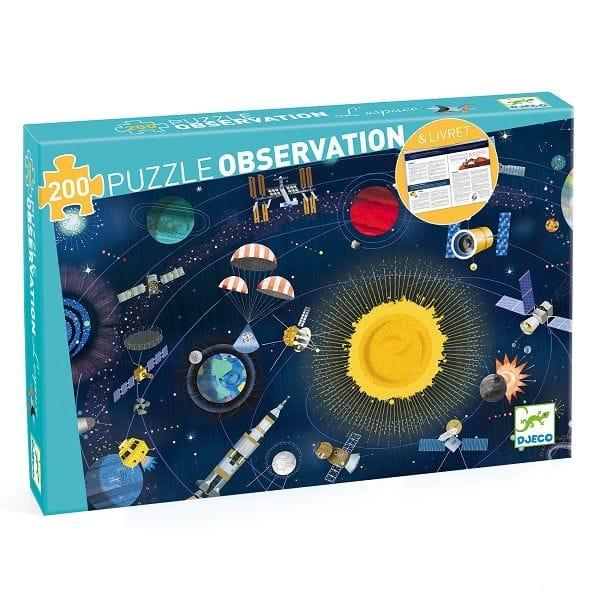 Puzzle Băieți Observație Cosmos (200 Piese)-2