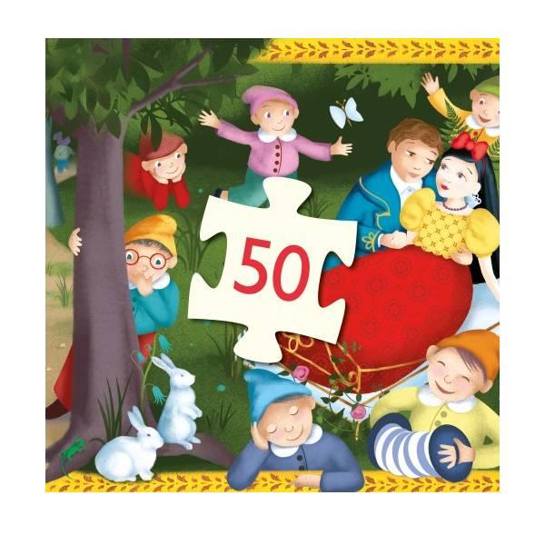 Puzzle Copii Albă Ca Zăpada (50 Piese)-3