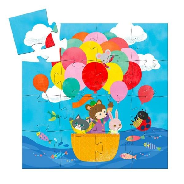 Puzzle Copii Balon (16 Piese)