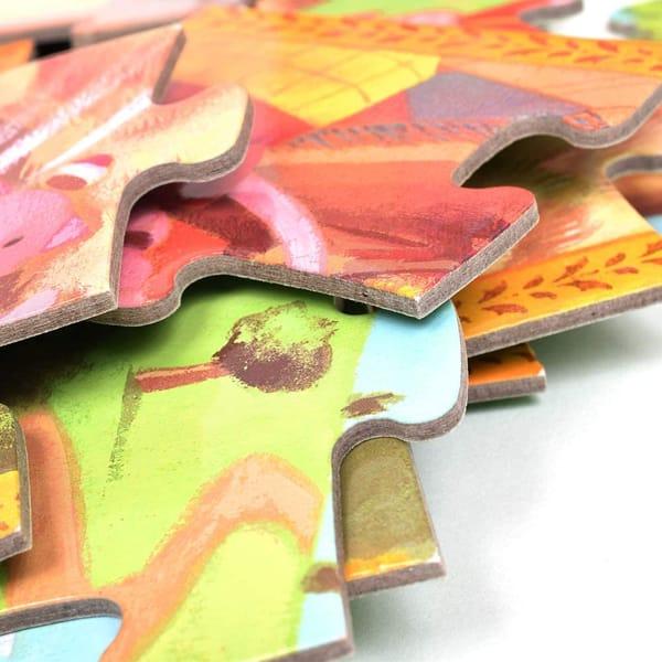 Puzzle Copii Cei 3 Purceluși (24 Piese)-1