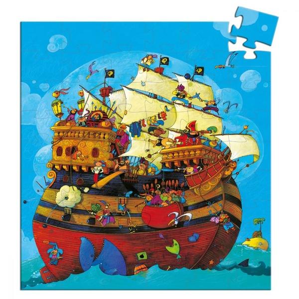 Puzzle Copii Corabia Piratilor Barbarossa (1)