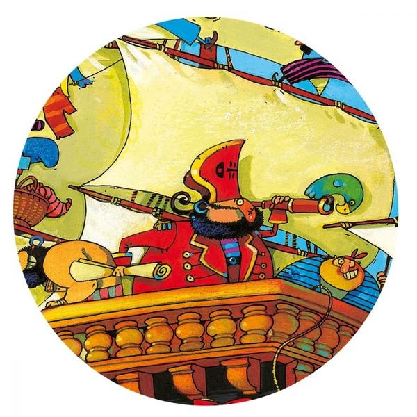 Puzzle Copii Corabia Piratilor Barbarossa (2)