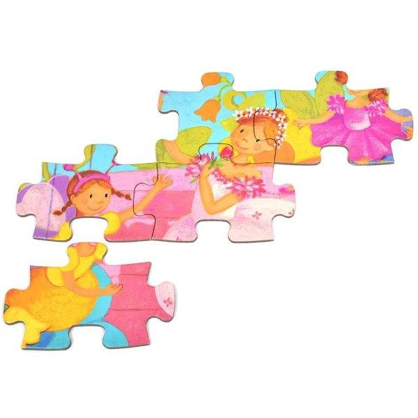 Puzzle Fete Balerina (36 Piese)-4