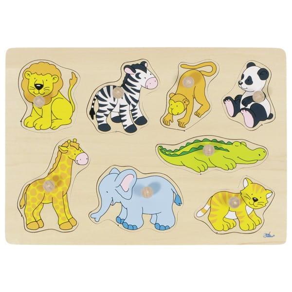 Puzzle Grădina Zoologică Din Lemn