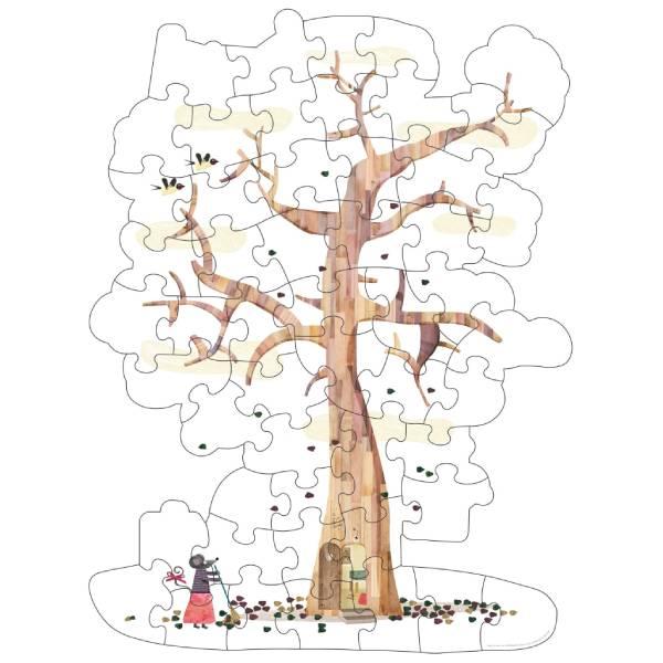 Puzzle Reversibil Gigant Copacul Meu-3