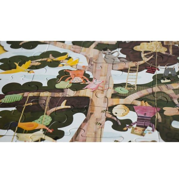 Puzzle Reversibil Gigant Copacul Meu-4