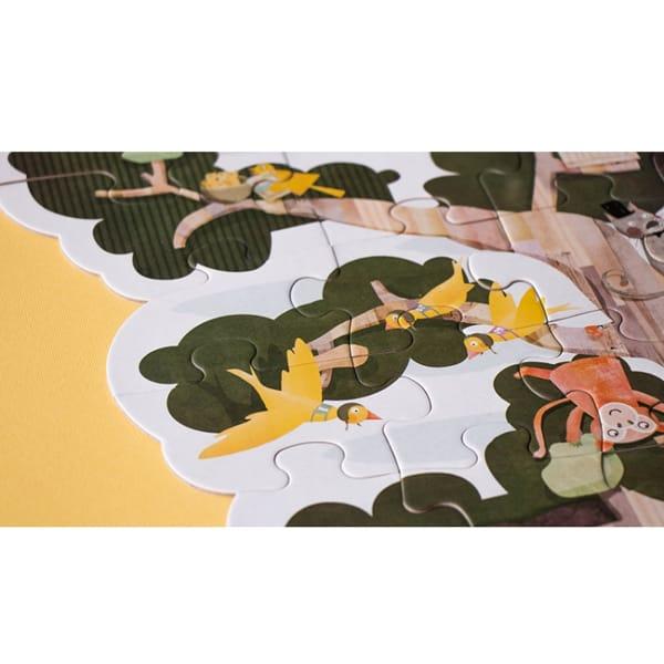 Puzzle Reversibil Gigant Copacul Meu-6