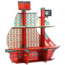 Raft Camera Copiilor Corabia Piratilor MDF