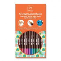 Set 12 Creioane Colorate - Tip Acuarelă
