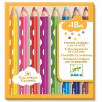 Set 8 Creioane De Colorat Pentru Bebeluși