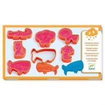 Set Animale Sălbatice - Ștampile Și Forme Pentru Plastilină