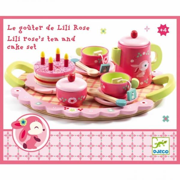 Set De Ceai Aniversar Pentru Fetițe Lily Roses
