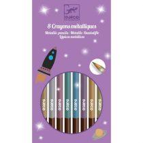 Set Creioane De Colorat Metalice