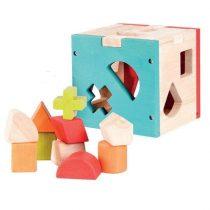 Set Cuburi Cu Forme Multicolore Activity