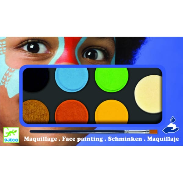 Set Culori Make-Up Non-Alergic Natur