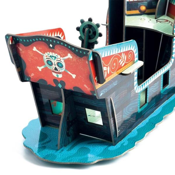 Set De Constructie 3D Corabia Piratilor