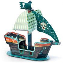 Set De Construit 3D Corabia Piratilor