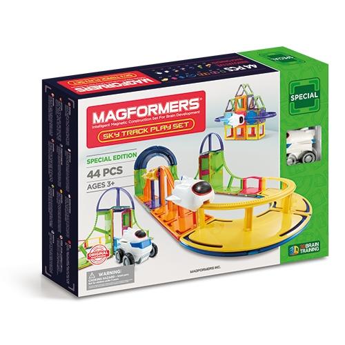 Set Magnetic De Construit Magformers Sky Track Play Set