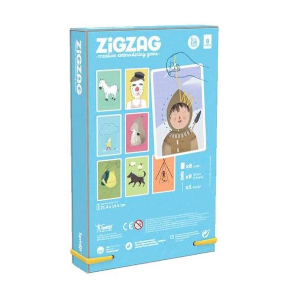 Set De Cusut Pentru Copii Zig Zag-2