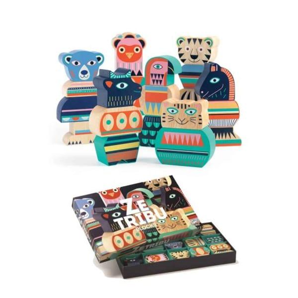 Set Figurine Zetribo Din Lemn