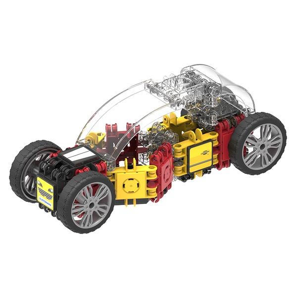 Set Magnetic De Construit Mașini De Viteză (2)