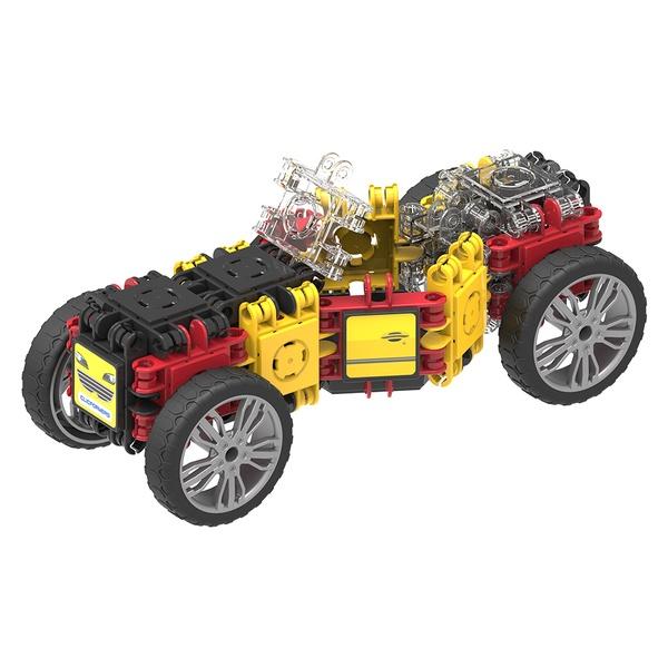 Set Magnetic De Construit Mașini De Viteză (4)