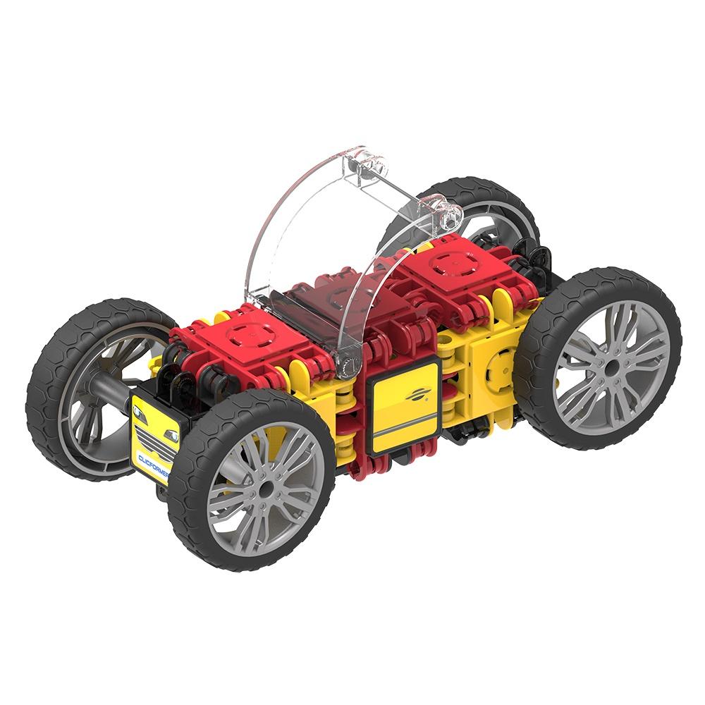 Set Magnetic De Construit Mașini De Viteză (6)